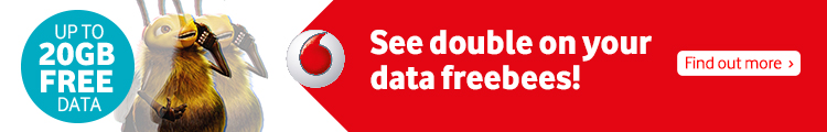 See double on your data freebees!