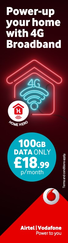 Power-up your home with 4G Home Broadband