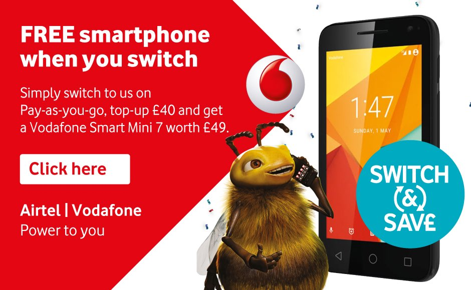 Free smartphone when you switch