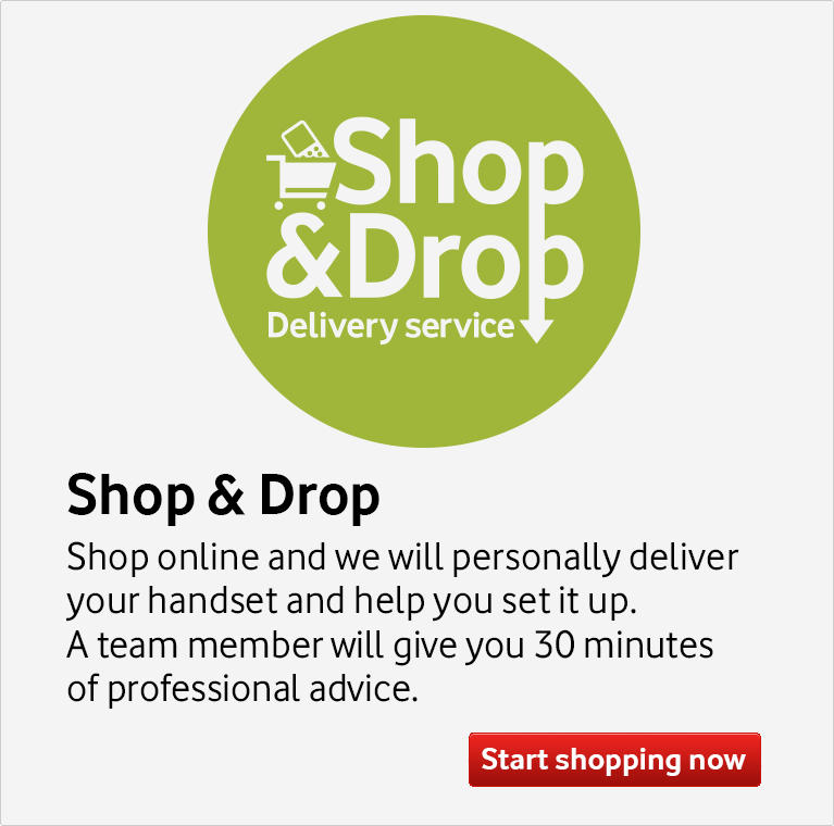 Shop and shop delivery service